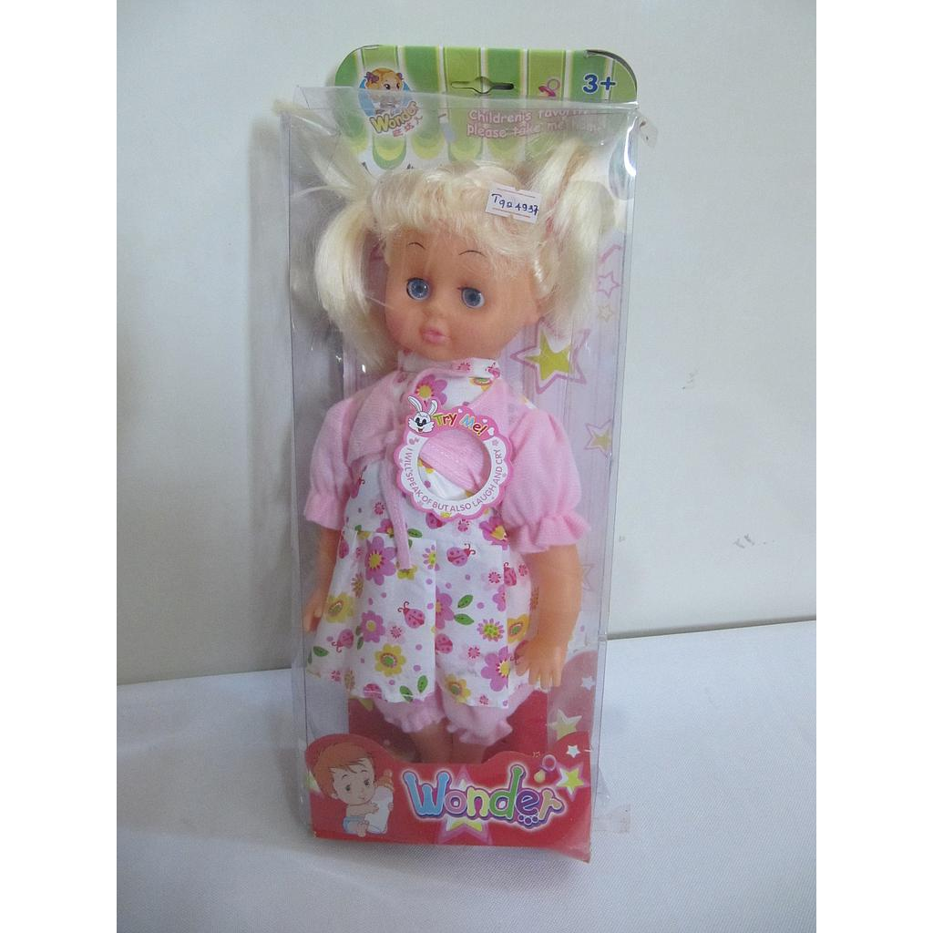 "13"" MUSI DOLL IN A BOX  T924937"