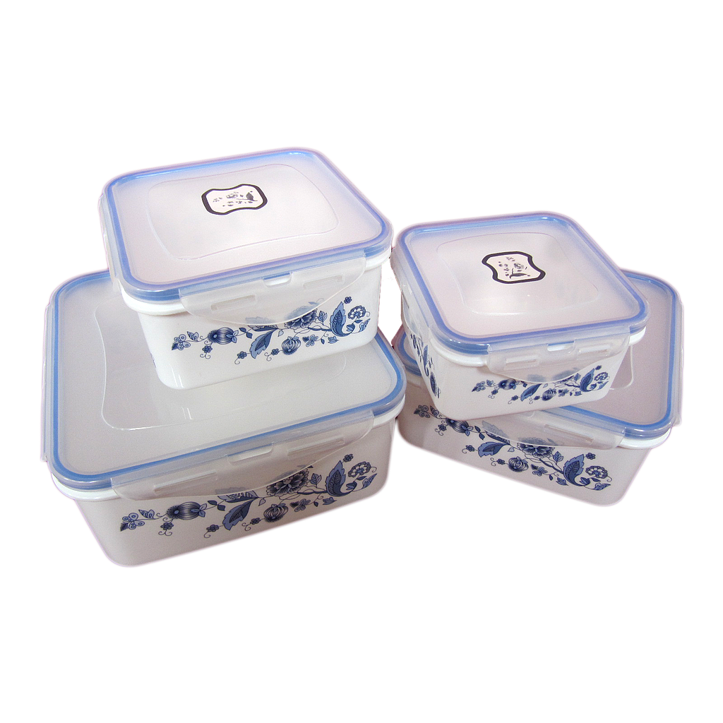 4PCS LUNCH BOX YW10218